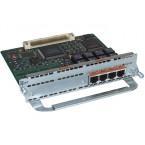 Cisco NM-4B-S/T—Four port ISDN BRI network module