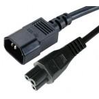 Καλώδιο IEC 60320 από C14 σε C5