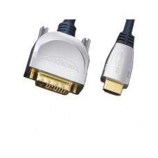 Καλώδιο Clicktronic DVI-D male-HDMI male
