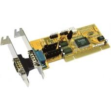 Low profile PCI σε δύο serial EXSYS EX-41252