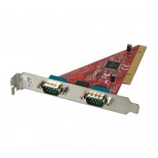 PCI κάρτα με δύο θύρες RS232 serial